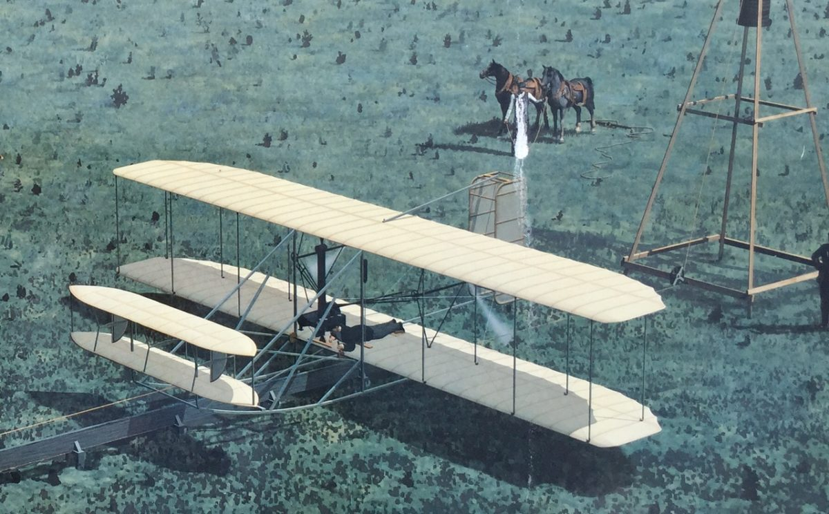 Attitude lessons from the wright brothers.