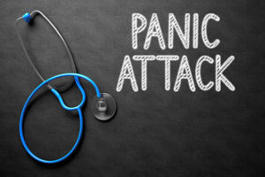 Stop panic attacks by getting a checkup and realizing they will not kill you.
