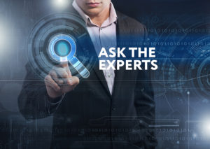 Making Decisions Quickly means asking experts.